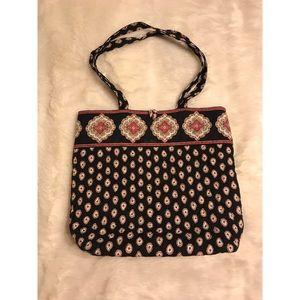 Vera Bradley Black Handbag Fall 2006 Pattern